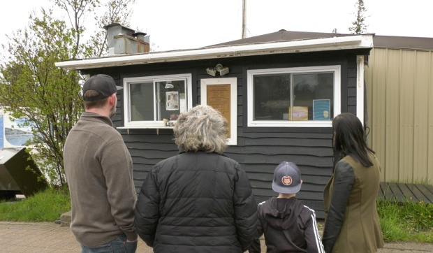 A multigenerational Mattawa chip stand that has been open for 76 years is being forced to close its doors because it doesn't meet new fire code regulations. (Eric Taschner/CTV News)