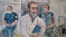 Nordahl Lelandais was sentenced to 20 years in jail (AFP)