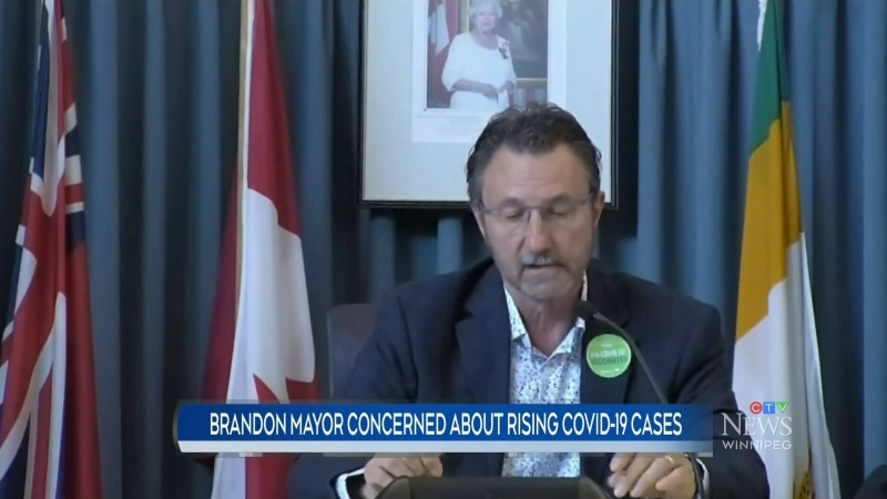 Concern over rising COVID cases in Brandon