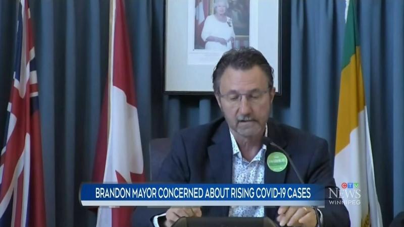 Concern over rising COVID cases in Brandon
