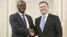 Kenney, Trudeau respond to Madu comments