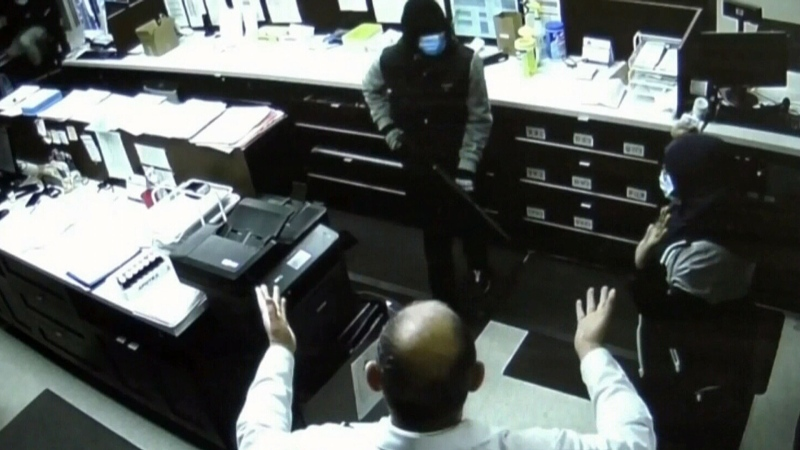 Pharmacy robberies up