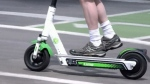 Injured while riding electric scooter