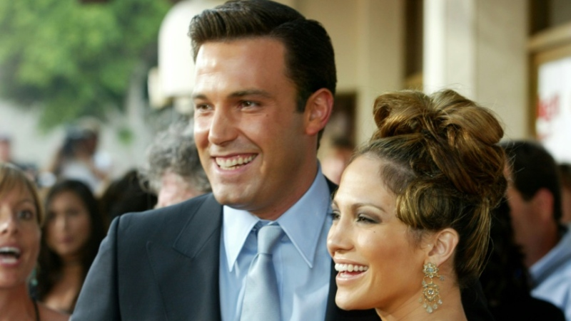 Jennifer Lopez and Ben Affleck (pictured 2003) have sparked reunion rumours after being spotted together in Montana. (AFP)