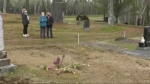 A New Brunswick family says they can't bury their loved one who passed away earlier this year, because someone else is already buried in their family plot.
