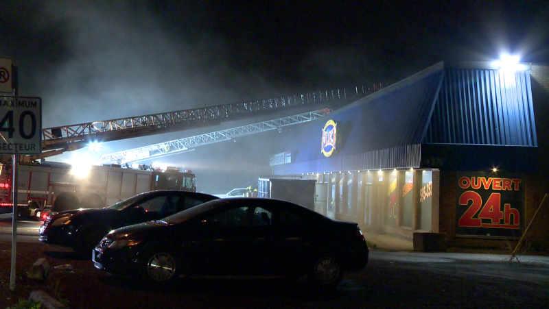 The Montreal police arson squad is investigating a fire in LaSalle.