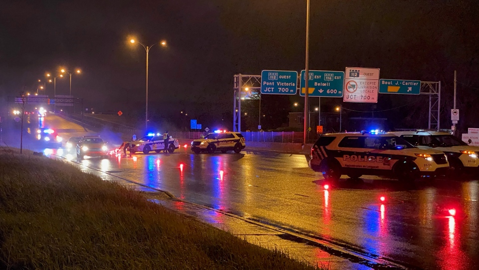Woman hit by car Longueuil