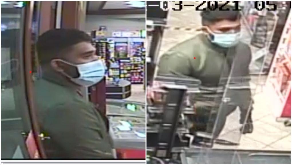 Calgary convenience store robbery suspect