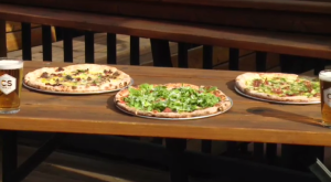 WATCH: Jaden Lee-Lincoln is live on location with Peaks Pizza Co. learning how to make their delicious Brooklyn style pizza.