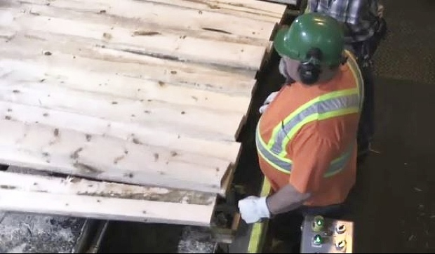 EACOM Timber in Timmins has voluntarily shut down after four employees tested positive for COVID-19. (File)