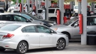 Drivers fill their tanks at the Speedway in East Ridge, Tenn., on Tuesday, May 11, 2021, amid the Colonial Pipeline ransomware attack. (Matt Hamilton /Chattanooga Times Free Press via AP)