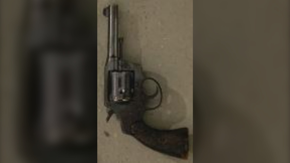 Gun seized by Barrie police
