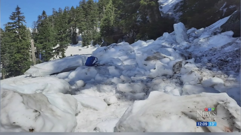 Rescue crew finds aftermath of B.C. avalanche