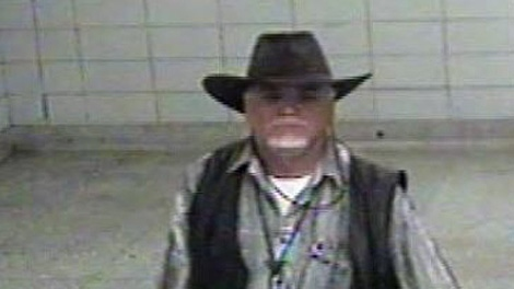 Toronto Police released this security camera image of a suspect in an alleged Sept. 23, 2009 sexual assault at the Dundas West TTC station.