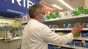 Brian Jones, a pharmacist at Evergreen Shoppers Drug Mart, says there are all kinds of over-the-counter allergy medication that will help control symptoms.