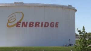 Enbridge in Sarnia, Ont. on May 12, 2021. (Daryl Newcombe/CTV London)