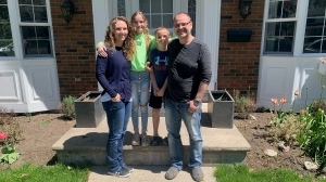 A Cambridge family preparing to move to Nova Scotia (Stephanie Villella / CTV News Kitchener)