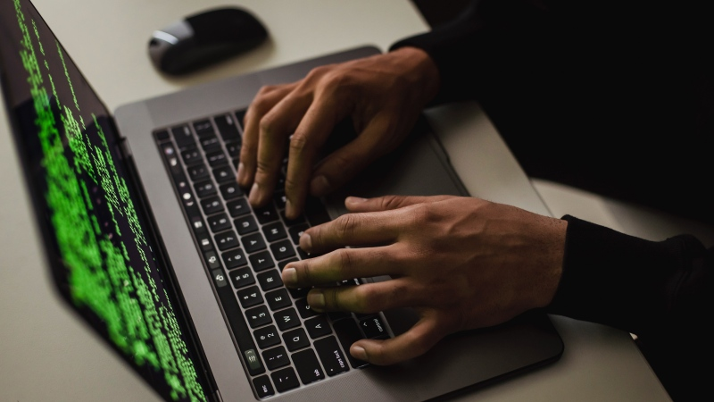 A hacker is seen in this file image. (Pexels)
