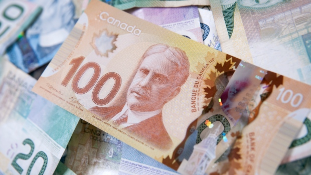 Canadian cash is shown: (iStock)