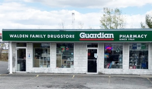 A total of 654 people have received their first dose of the AstraZenica vaccine at the Walden Family Drugstore in Lively. (Lyndsay Aelick/CTV News)