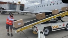 One hundred ventilators donated by Saskatchewan are now on their way to India. (Gareth Dillistone/CTV Regina)