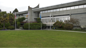 District of Saanich Municipal Hall as seen on May 12, 2021. (CTV News)