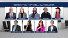 Edmonton mayoral candidates