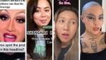Creators OnlineKyne, TiffyCooks, K.Fel and Meicrosoft (from left to right) have used their TikTok to explore their identities, learn and educate people.