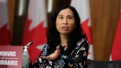 Chief Public Health Officer of Canada Dr. Theresa Tam speaks during a news conference on the COVID-19 pandemic in Ottawa on Tuesday, Dec. 22, 2020. THE CANADIAN PRESS/Justin Tang