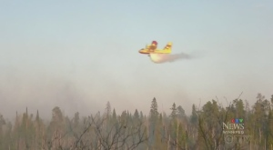Wildfire in Falcon Lake area has crews scrambling