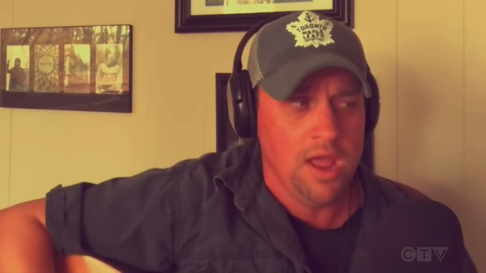 Chad Driscoll sings about golf