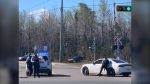 Codiac Regional RCMP is conducting a police operation on Millennium Blvd, Moncton. The area is closed to traffic.
