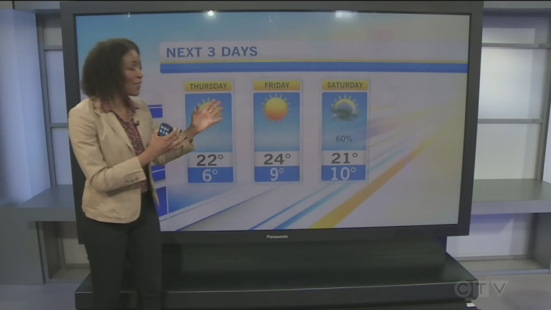 CTV Morning Live Weather May 13