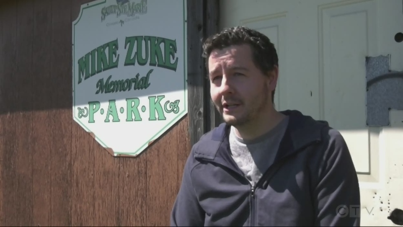 A Sault Ste. Marie city councillor is making plans to rebuild an outdoor hockey rink next winter to honour former local coach Mike Zuke. May 12/21 (Christian D'Avino/CTV Northern Ontario)