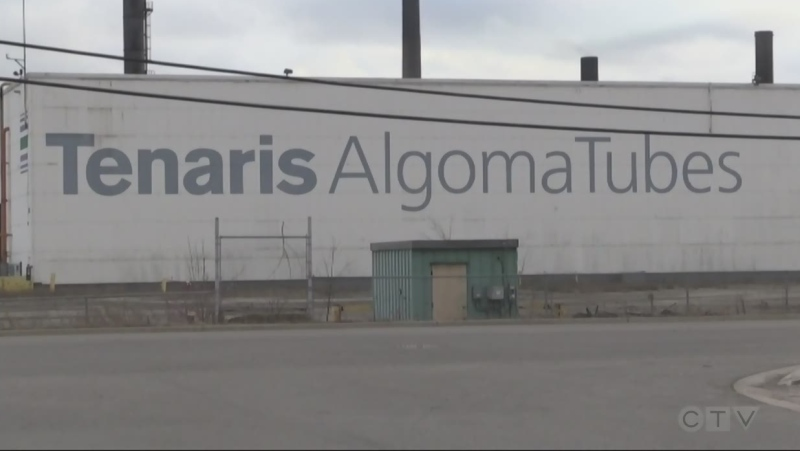 Tenaris Algoma Tubes in Sault Ste. Marie. May 12/21 (Mike McDonald/CTV Northern Ontario)