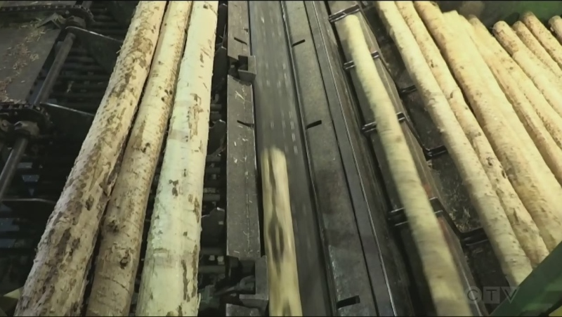 Timmins sawmill EACOM Timber has shut down after four employees tested positive for COVID-19. (CTV Northern Ontario)