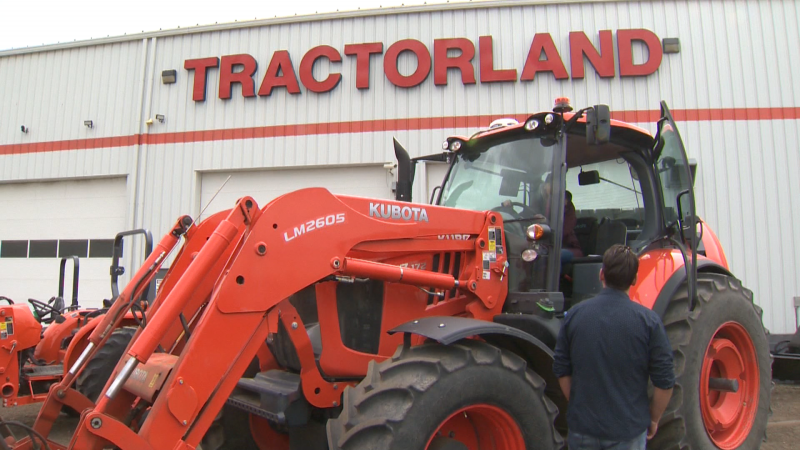 Kubota Canada helps growers get their harvest to Albertans, supporting a crucial part of Western Canada's economy