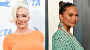 Courtney Stodden says they accept Chrissy Teigen's apology. (Getty Images via CNN)