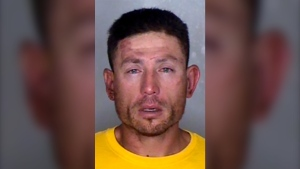 This undated photo provided by the Butte County District Attorney shows Ryan Scott Blinston, of Oroville, Calif. (Butte County District Attorney via AP)