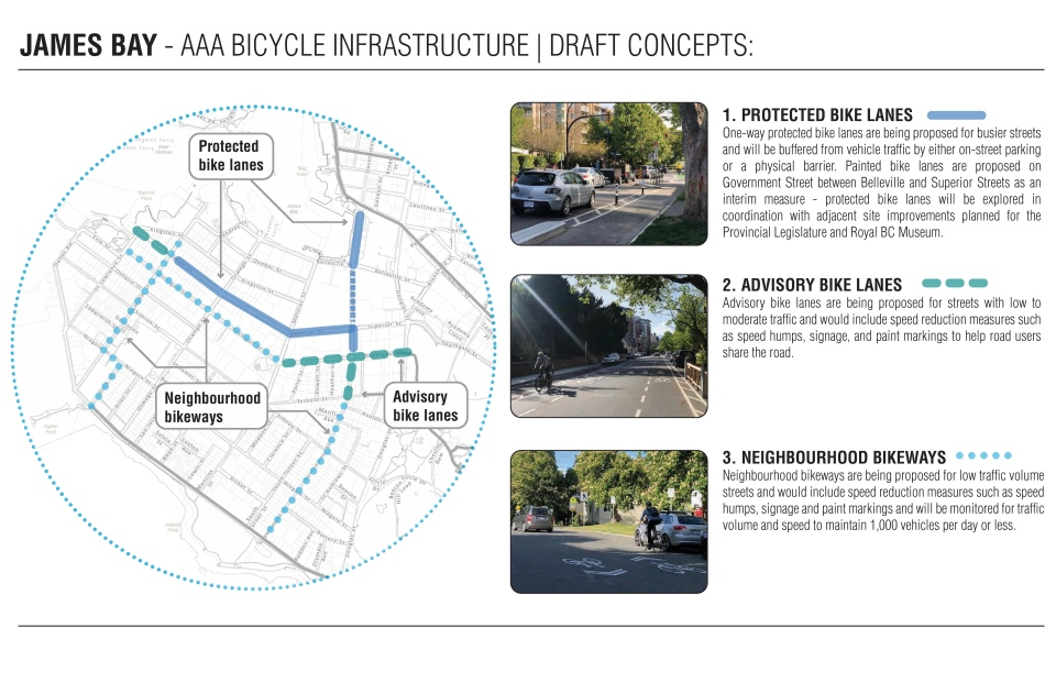 Bike Lane map