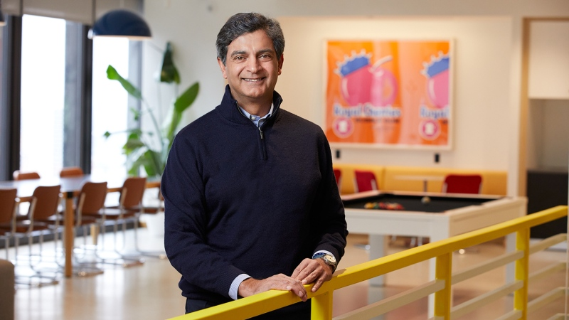 Sandeep Mathrani, the CEO of WeWork, is shown in this handout photo. (Tony Favarula/Andrew Collings Photography/ WeWork.com)
