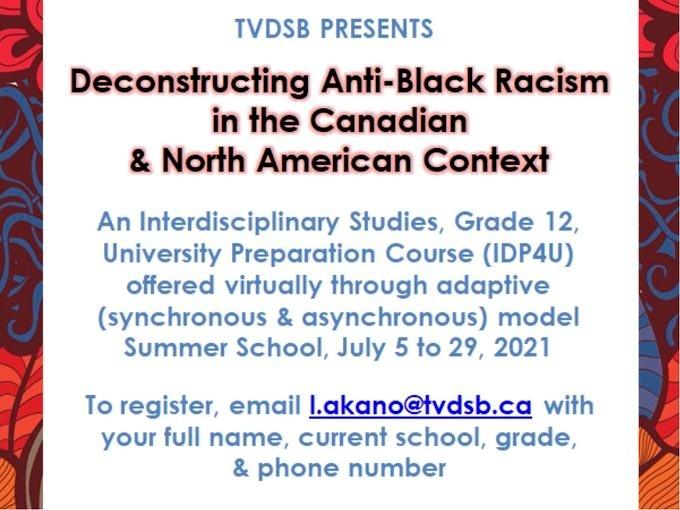 Deconstructing Anti-Black Racism