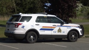 Nanaimo RCMP respond to incident on May 13, 2021. (CTV News)