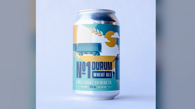 No. 1 Durum Wheat Ale (9 Mile Legacy Brewing).