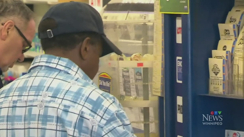 Manitoba home of winning lottery ticket