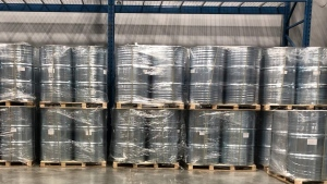 Dozens of seized drums are seen in an image on the Canada Border Services Agency website. (CBSA)