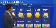 Cloudy Thursday, then the heat arrives