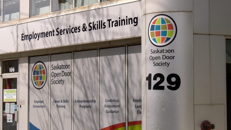 The Saskatoon Open Door Society office.