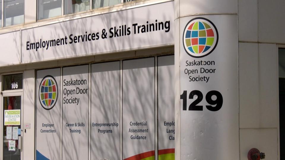 The Saskatoon Open Door Society office.
