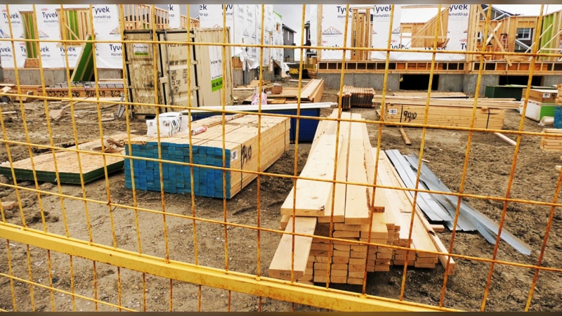 A boom in housing has sent lumber prices skyrocketing, causing some developers to consider pausing construction jobs until prices come back down